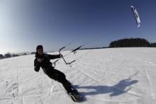 Snowkite Instructor for Winterseason at Kiteschule Skywalker