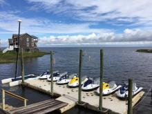 Our fleet of watercraft for kiteboarding lessons