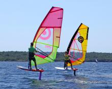 Windfoiling Minorca Sailing