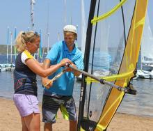 Windsurfing Instructor Minorca Sailing