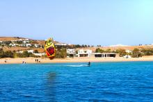 Hiring more kitesurf instructors for busy summer 2019  at Flisvos Kitecentre Naxos