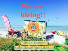 Couple needed on Holbox Island at Kukulkite kitesurfing Holbox Mexico
