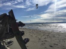 Urban Surf Kiteboarding