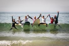 Surf teacher / head coach wanted at Yoga & Surf Retreat at Algarve, Portugal!  at Karma Retreats Lda.