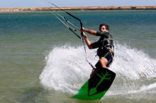 Kitesurf instructor summer 2018 at Activesportsholidays