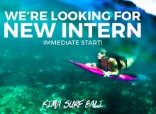 Social media and marketing intern!  at KIMA SURF BALI