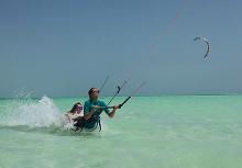 IKO or VDWS kite instructors at Lucky Kite Zanzibar
