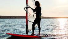 Watersports instructor and support to administration and bookings at Andrew Simpson Watersports Centre