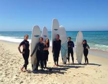 Surf camp host at Figueira Surf Center