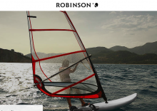 Join us now as a surfing and / or sailing instructor at ROBINSON Club