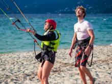 kitesurfing instructors at KiteGreece