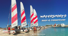 station manager and cat / windsurf instructor at Wet4 Fun Center