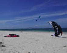 kitesurfing instructors at Tribe Watersports