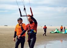 Kitesurfing instructors (L1 and 2) March - October 2019 at Kiteboardschool.nl