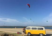 Experienced kitesurf instructor at Kiteschule Sri Lanka