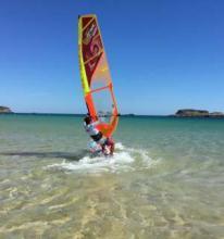 windsurf instructor  at Active Sports Holidays